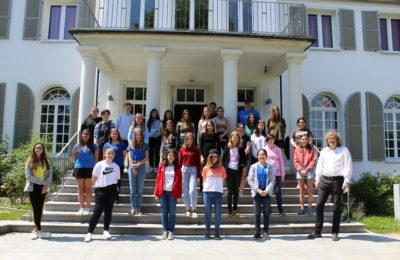 Unsere Bayerischen Meisterinnen: Siri Marleen Prinzen (U14w), Maria Tsakona (U16w) und Maria Schilay (U18w)